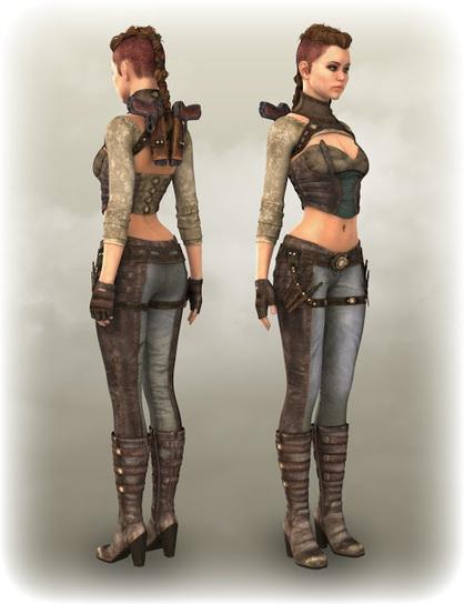 3d Model Art Zone: 3d Models Art Zone - AERON for Genesis 2 Female(s) and FURY for AERON | 3d Models | Scoop.it
