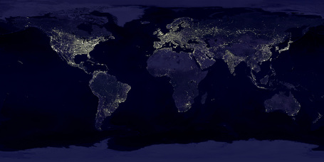 Earth's City Lights | Geography Education | Scoop.it