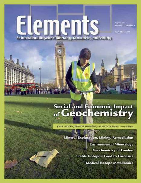 Social and Economic Impacts of Geochemistry   Mineralogy, Geochemistry, Mineral Surfaces & Nanogeoscience   Scoop.it