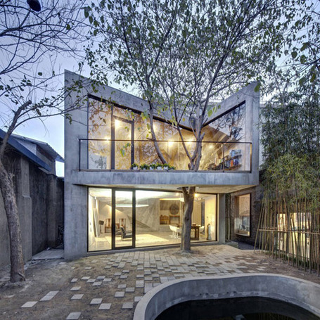 Twisting Shapes and a Surprising Interior Design: Tea House in Shanghai | What Surrounds You | Scoop.it