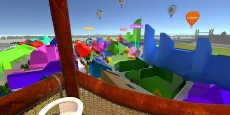 A Bordeaux les futurs chantiers urbains se visitent en montgolfière | Les grands projets de Bordeaux Métropole | Scoop.it