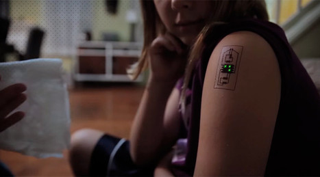 Tech Tatts: Biometric tattoos raise the bar in wearable technology (VIDEO) | Cool New Tech | Scoop.it