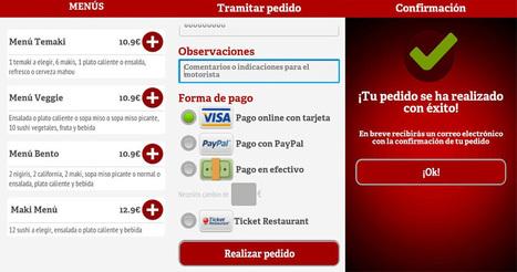 ¿Quieres pedir comida a domicilio? Descárgate la app. de La Nevera Roja.   La Nevera Roja   Scoop.it