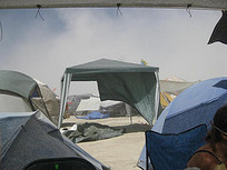 How to make a shade structure for Burning Man that won't blow away! | Wanderlust | Scoop.it