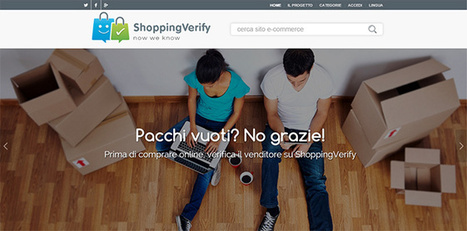 E' online ShoppingVerify, dove recensire i siti e-commerce | Social Media Italy | Scoop.it
