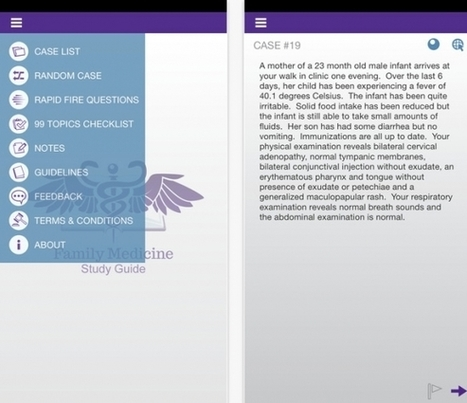 Review of Family Medicine Study Guide app, for Family Medicine Board Review - iMedicalApps   Healthcare and Medical Apps   Scoop.it
