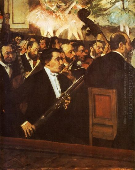 Orkest van de opera 1869 - Olieverfschilderijen | Creative Oil on Canvas | Scoop.it