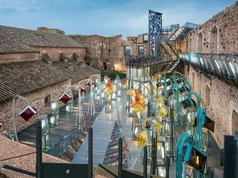 Un château en ruine en Espagne réhabilité par Izaskun Chinchilla - Journal du Design | Les malls & autres grands projets | Scoop.it