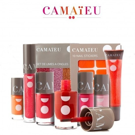 Camaïeu lance sa propre collection de maquillage - peopleinside.fr | Agora | Scoop.it