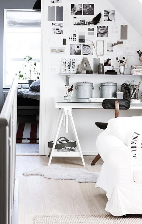 Avant/Après : un bureau moderne & minimaliste | DecoCrush blog déco, idées déco | décoration & déco | Scoop.it