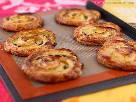 Pains aux raisins   Recettes de cuisine de Meilleur du Chef   Scoop.it