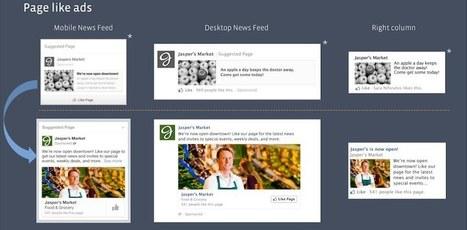 Les publicités sur Facebook afficheront des images plus grandes | Social Media Curation par Mon Habitat Web | Scoop.it