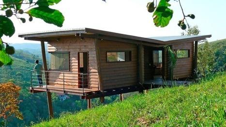 39 maison sur pilotis 39 in construire tendance for Construire maisonnette en bois