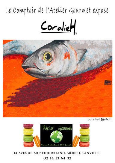 CoralieH ARTISTE PEINTRE - Granville | art et design | Scoop.it