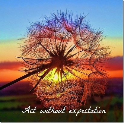 Act Without Expectation | Living Business | Scoop.it