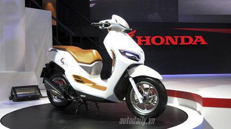 ES01 concept – scooter lạ mắt của Honda | Tin tức ô tô xe máy | Scoop.it