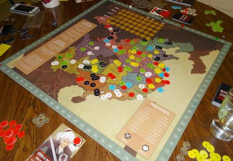 Kickstarter Board Game Alert: Eternal Dynasty - GeekDad (blog) | Boardgaming | Scoop.it