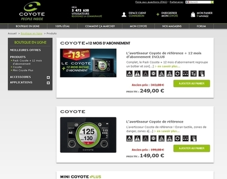 Coyote recueille l'avis de ses clients par SMS | Focus Mobile Marketing | Scoop.it