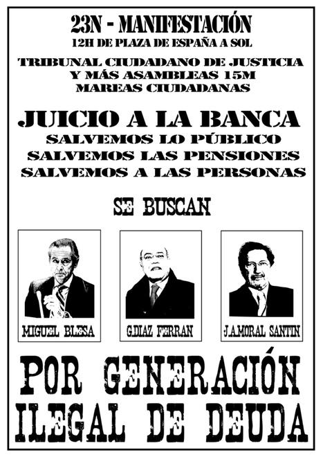 Tribunal Ciudadano de Justicia 15M #23N Juicio a la Banca | TRIBUNAL CIUDADANO DE JUSTICIA 15M (TCJ) | Scoop.it