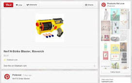 """@WalmartLabs Blog: Discovery shopping with Pinterest's more useful """"Product Pins"""" 