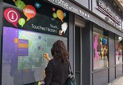 L'OT de Valence innove avec une vitrine interactive tactile   tourisme   Scoop.it