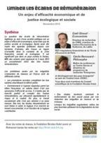 Limiter les écarts de rémunération: un enjeu d'efficacité économique et de justice écologique et sociale | 16s3d: Bestioles, opinions & pétitions | Scoop.it