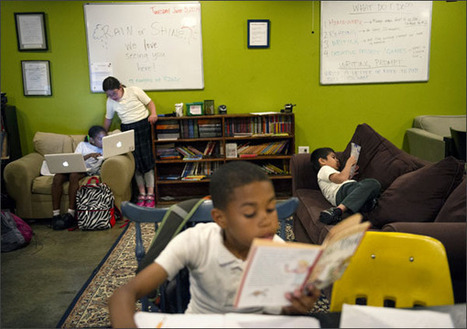 Writing Centers Seek to Unlock Youths' Creativity   Creative communication   Scoop.it