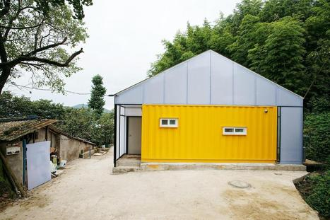 An ultra-low-cost container house for a family | JYA-RCHITECTS | Architecture écologique | Scoop.it