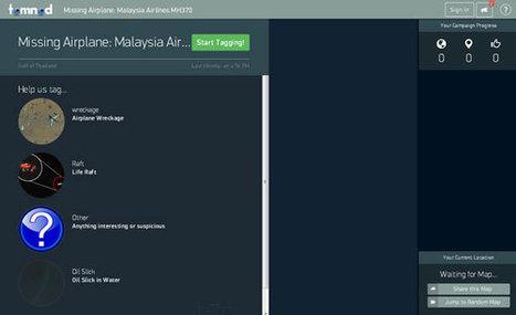Retrouver l'avion perdu de Malaysia Airlines grâce à internet, mode d'emploi   Actualités générales   Scoop.it