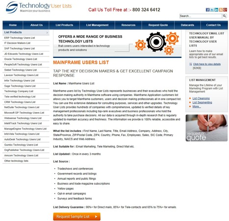 Increase Your Business Revenue With Mainframe Users List | Technology Email List | Scoop.it