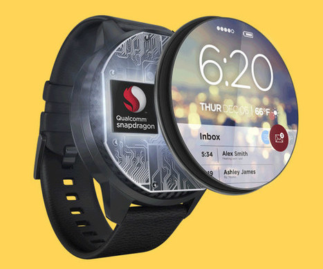 Qualcomm Announces Snapdragon Wear 2100 for Smartwatches, 3 New Cortex A53 Mobile SoCs | Embedded Systems News | Scoop.it