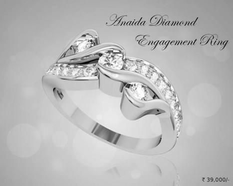 Buy Anaida Diamond Engagement Ring | Diamond Solitaire Ring | Scoop.it