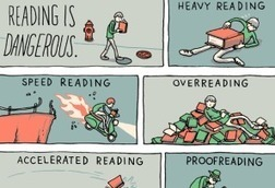 Why Reading Is Dangerous. - Edudemic | Librarians in the real world | Scoop.it