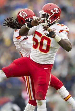 Chiefs' Justin Houston practices but Brandon Flowers hurts knee - KansasCity.com | Sports Journalism 585 FFL | Scoop.it