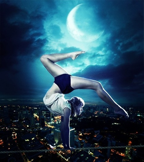 Create a Breathtaking Photo Manipulation of a Tightrope Dancer in Photoshop | The Official Photoshop Roadmap Journal | Scoop.it