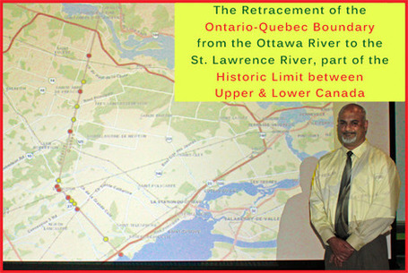 Retracing the Boundary between Upper & Lower Canada by Don ... - Cornwall Free News | Land Surveyors | Scoop.it