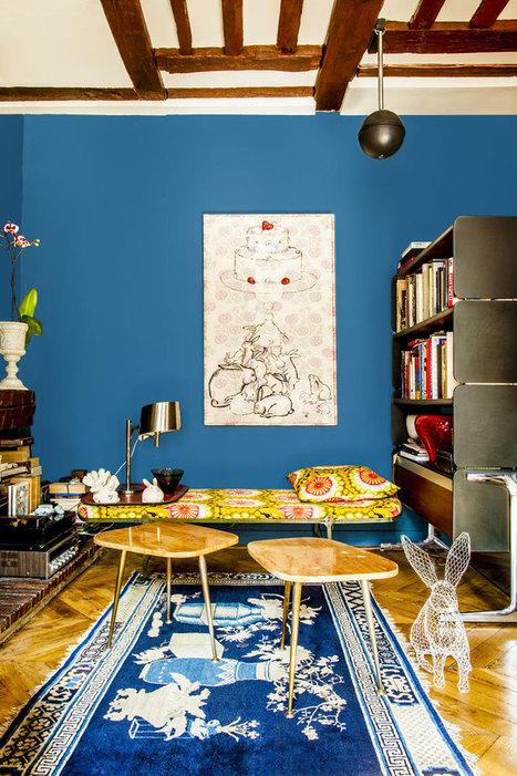 Shinsuke Kawahara's Whimsical Paris Apartment | Yatzer | Raw and Real Interior Design | Scoop.it