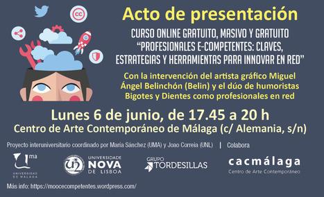 Save the data: 6 de junio, presentación oficial de nuestro MOOC en el CAC Málaga con 'Belin' y otros profesionales e-competentes invitados | Educación y nuevas tecnologías | Scoop.it