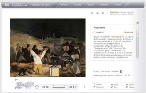 artecompo, una nueva forma de contemplar cuadros de pintores famosos | Educación y nuevas tecnologías | Scoop.it