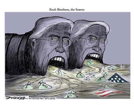 Laugh With the Koch Brothers | Oil and Gas Vultures | Scoop.it
