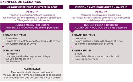 Auchan lance Imedia Center, sa régie publicitaire intégrée   Offremedia   MARQUES & ENSEIGNES   Scoop.it