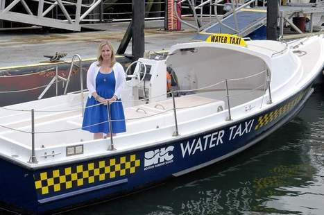Water taxi named in honor of Medford resident Bonnie Powers - Wicked Local Medford   Urban Water Transportation - Ferries   Scoop.it