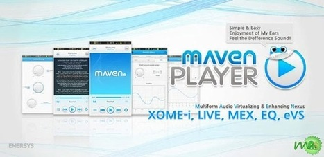 MAVEN Music Player (Pro) APK Free Download : MU Android APK | U2 | Scoop.it
