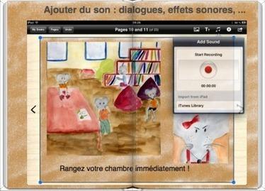 Créer un livre numérique avec Book creator sur iPad - TICE – espace des usages | Autour de l'info doc | Scoop.it