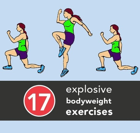 17 Explosive Bodyweight Exercises for Strength and Speed | En Forme et en Santé | Scoop.it