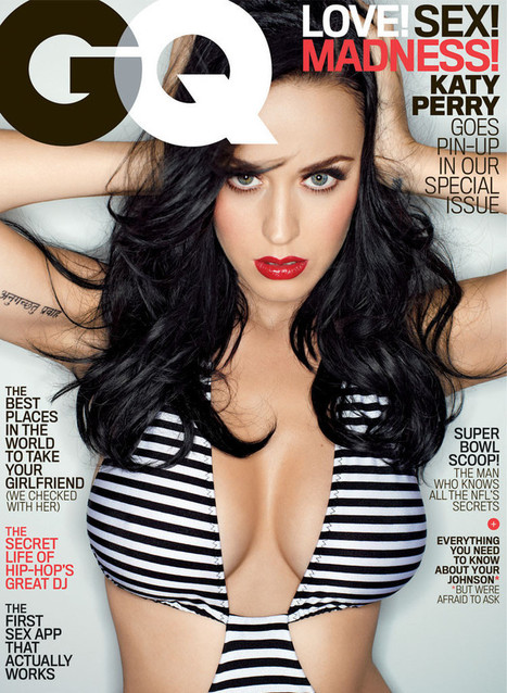 Katy Perry: 'My big breasts are gifts from God' | socail media with Celebrities | Scoop.it
