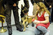 Evansville girl's fundraising helps buy police dog - Post-Tribune | Local Economy in Action | Scoop.it