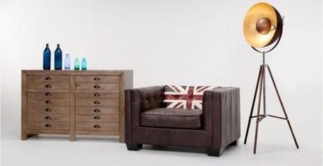 Mezcla el british moderno y el vintage con los muebles y complementos de Made | Todo sobre muebles,mobiliario y el mueble. | Scoop.it