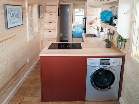 Tumbleweed Cypress Tiny House on Wheels | Living Little | Scoop.it