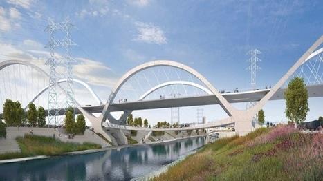 HNTB's winning design for 6th Street bridge - LA Observed   highline   Scoop.it